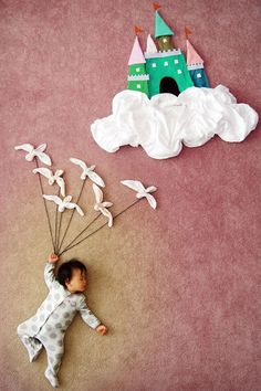 'Wengenn in Wonderland' is a dreamy and whimsical photo series by artist and mother Queenie Liao, in which she turns her baby Wengenn's nap time. Love Photography, Creative Photography, Children Photography, Infant Photography, Photography Awards, Professional Photography, Baby Kind, Baby Love, Baby Pictures