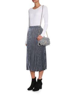 Proenza Schouler XS Courier tweed shoulder bag