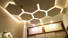 false #ceiling idea bedroom #Hexagon # Gurdit Singh