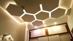 false #ceiling idea bedroom  #Hexagon  # Gurdit Singh