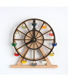 Around We Go Clock- Wooden Wall Clocks for Sale Australia| Clocks for Sale