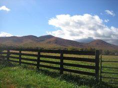 Farm land just outside Harrisonburg, VA - home of James Madison University - GOOOOO Dukes!