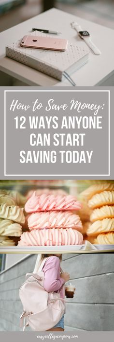 How to Save Money: 12 Ways Anyone Can Start Saving TodayFacebookInstagramPinterestTwitter
