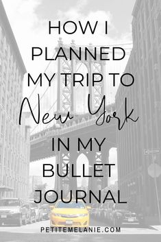 New York: Traveling Bullet Journal, Vol. 3 How I planned my trip to New York in my Bullet Journal Bullet Journal Travel, Bullet Journal How To Start A, Bullet Journal Layout, Bullet Journal Inspiration, Bujo, Travel Itinerary Template, Plan My Trip, New York Travel, Trip Planning
