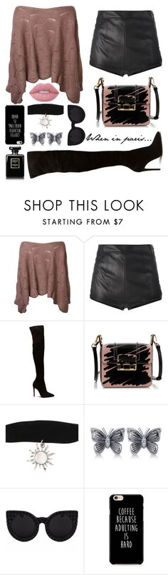 """When in Paris..."" by smileforsierra ❤ liked on Polyvore featuring La Perla, Lanvin, Allurez and Lime Crime"
