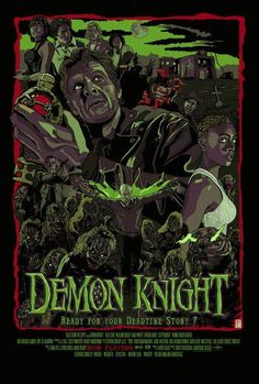 Tales From the Crypt presents Demon Knight (1995) fan alt poster art