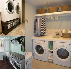 10 Clever Ideas to Store More in Your Laundry Room a