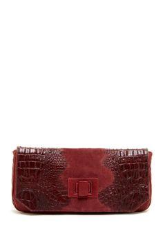 L.A.M.B. Croco Embossed Clutch  ClutchBags #Handbags
