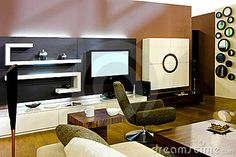 Photo about Corner of the big living room in modern apartment. Image of mirrors, apartment, decor - 14367416 Big Living Rooms, Home And Living, Interior And Exterior, Household, Stock Photos, Detail, Vectors, Modern, Image