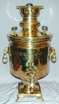 Samovar, Antiques, russian Brass