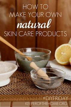 Have you ever considered how to make your own natural skin care products? Turns out it's easy AND better! Dandruff: ACV Razor burn: honey Dry Skin: lemon Hair Spray: gelatin And more! Face Scrub Homemade, Homemade Skin Care, Homemade Beauty Products, Natural Products, Face Products, Organic Beauty, Organic Skin Care, Natural Skin Care, Natural Beauty