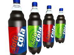 SOFOKOLA - Dizajnérsky návrh fľaše a etikety značky Šofokola v spolupráci s OXO creative.