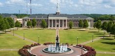 black and white pictures of troy university in troy alabama Fine Arts College, Education College, Troy Alabama, Troy University, Arts And Crafts For Adults, Global Business, Human Services, Arts And Crafts Movement, Graduate School