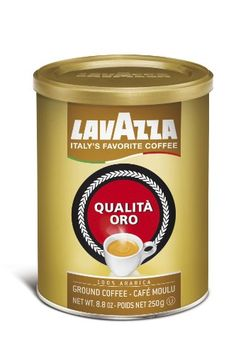 Lavazza Qualita Oro Ground Coffee, 8.8-Ounce Cans (Pack of 4) - http://www.freeshippingcoffee.com/brands/lavazza/lavazza-qualita-oro-ground-coffee-8-8-ounce-cans-pack-of-4-2/ - #Lavazza