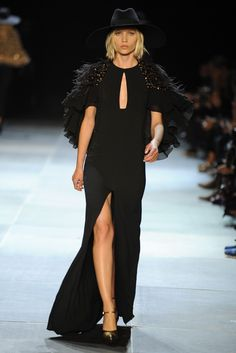 Saint Laurent RTW Spring 2013 - Runway, Fashion Week, Reviews and Slideshows - WWD.com