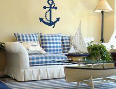 Imágenes de una decoración marinera