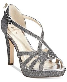Style Co. Selinaa Evening Pumps Pewter 5.5m - Style co pumps for women (*Amazon Partner-Link)