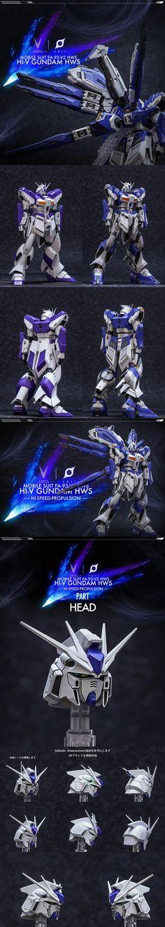 【参考作例】MG 1/100 RX-93-v2 Hi-vガンダム 塗装済完成品 - INASK INFO (^^ゞ Gundam Custom Build, Robot Art, Gundam Model, Drawing Skills, 40th Anniversary, Mobile Suit, Lego, Sailor, Legos