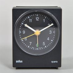 Vintage BRAUN Type 4847 / AB 30 Alarm Clock In Good Working Condition Lubs Rams #MidCenturyModern #Braun