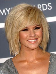 Kimberly Caldwell Shag Hairstyle