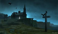 The Church on the Cliffs by Du1l on DeviantArt