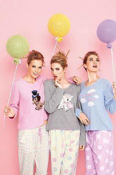 Фотосессия в стиле Пижамной вечеринки, фотосъемка Pajama party | Фотостудия на Войковской