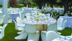 Wedding // Decoration // Panton Chair