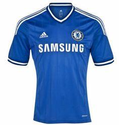 maillot Chelsea 2013 2014 de football domicile - €17.00   Maillot De Foot 2013  2014 73afabf1711