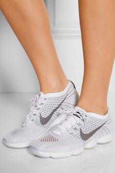 Nike | Flyknit Zoom Agility mesh sneakers | NET-A-PORTER.COM