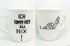 Tasse, persönliches Geschenk mit Widmung & Spruch von Lovely-Cups auf DaWanda.com