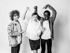 Gaten Matarazzo, Millie Bobby Brown & Caleb McLaughlin answer interview questions without words for German magazine Süddeutsche Zeitung