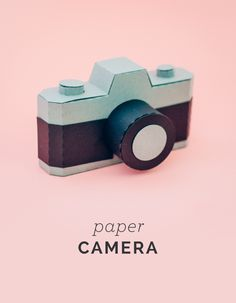 3D Paper Camera - How-to | KatieJarman.com