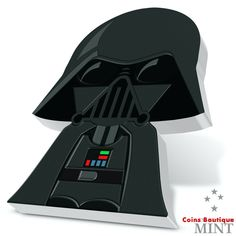 Darth Vader Chibi coins Star Wars 1oz Proof Silver Coin Niue 2020 Vader Star Wars, Darth Vader, Dc Comics Series, Justice League 1, Lt Commander, Sith Lord, Star Wars Collection, Coin Collecting, Queen Elizabeth Ii