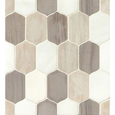 Found it at Wayfair - Luxembourg Lily Blended Stone Mosaic Tile in Palais Stone Mosaic Tile, Marble Mosaic, Mosaic Tiles, Mosaic Glass, Wall Tiles, Mosaics, Luxembourg, Laundry Room Remodel, Kitchen Remodel