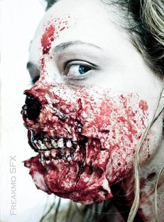 25 scariest zombie makeup attempts of all time that will give you goose bumps