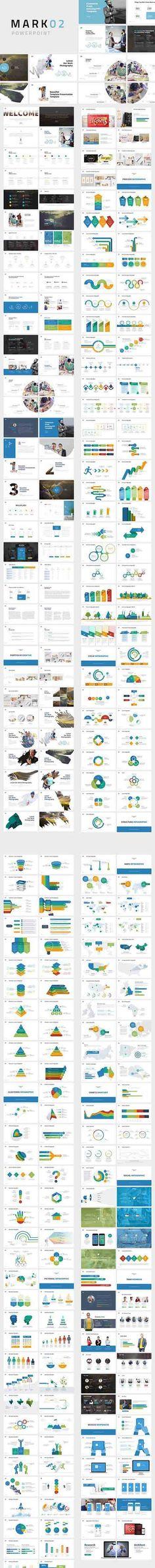 CreativeMarket - Mark02-Minimal Powerpoint Template