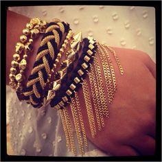 Black & Gold ♡