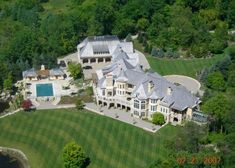 32,000 Square Foot European Inspired Mega Mansion In Rochester Hills, Michigan « Homes of the Rich – The Webs #1 Luxury Real Estate Blog