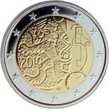 2 euro 150th anniversary of Finnish currancy - 2010 - Series: Commemorative 2 euro coins - Finland