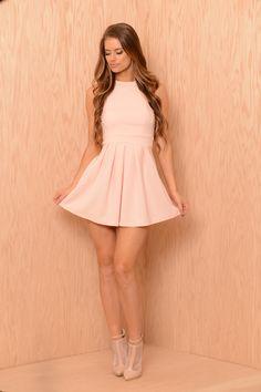 Wendy Dress - Peach