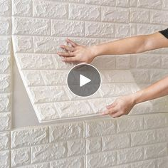 1.79US $ 68% OFF|70x38cm 3D Wall Stickers Self Adhesive Foam Brick Room Decor DIY 3D Wallpaper Wall Decor Living Wall Sticker For Kids Room|Wallpapers|   - AliExpress