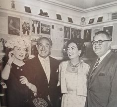 Warner Bros refused to make Baby Jane. At the end of the film Jack Warner (left) gave a luncheon for Joan Crawford and Bette Davis with Robert Aldrich, as an apology that he had not had faith in the film. He also deeply regretted his decision as Baby Jane turned out to be a huge success.