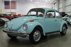 Marina Blue 1973 Volkswagen Beetle Super Beetle For Sale | MCG ...