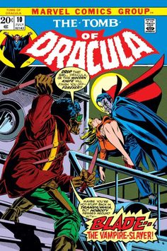 Tomb of Dracula #10 - His Name is Blade (Issue)
