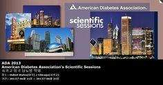 ADA 2013 American Diabetes Association's Scientific Sessions 시카고 미국 당뇨병 학회