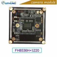 "2.0M 1080P 1/2.7"" PS5220 CMOS sensor+FH8536H CCTV AHD/TVI/CVI/CVBS camera module board support IR cut night vision for cctv cam #Affiliate"