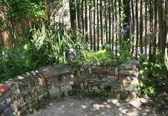 zitmuur in Lunetten Utrecht Garden Images, Utrecht, Dream Garden, Pathways, My Dream, Patio, Inspiration, Land, Outdoor Decor