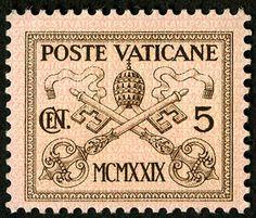 50c Papal Arms single