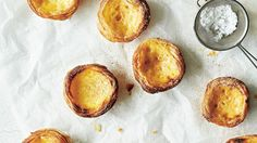 Iconic pasteis de nata with hints of lemon and vanilla
