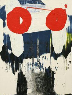 """Ward Schumaker, Berlin, acrylic on wood, 12"""" x 9"""""""